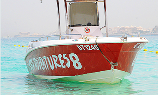 Boat Adventures For 4 People In United Arab Emirates Gulf!