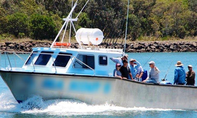 """36' Cuddy Cabin """"SEA SCOUT II"""" Fishing Charter in South West Rocks, Australia"""