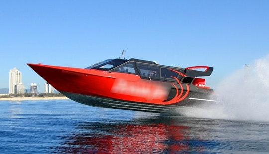 Jet Boat Tour In Main Beach