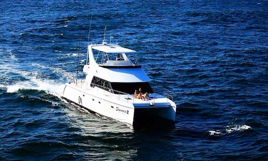 Enjoy Fishing In Durban, South Africa On Power Catamaran