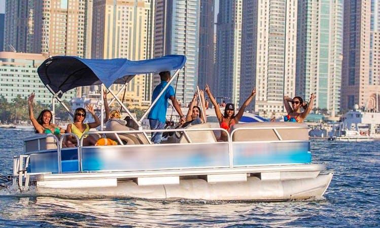 Rent Shark 1 Pontoon in Dubai, United Arab Emirates