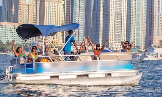 Rent Shark 1 Pontoon In Dubai, United Arab Emirates