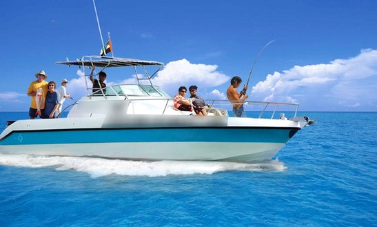 Enjoy Fishing In Dubai, United Arab Emirates On 33' Sport Fisherman