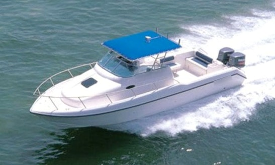Enjoy Dubai, Uae On 31' Dolphin Super Deluxe Center Console