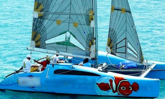 27ft Sailing Catamaran