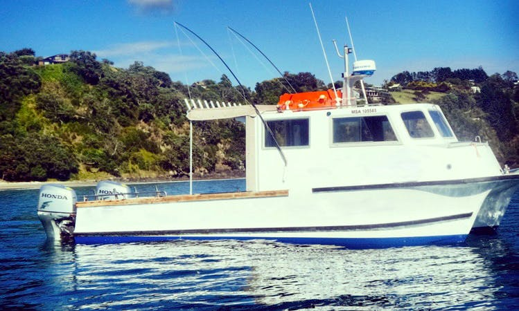 Enjoy Fishing in Auckland, New Zealand with Captain Matt