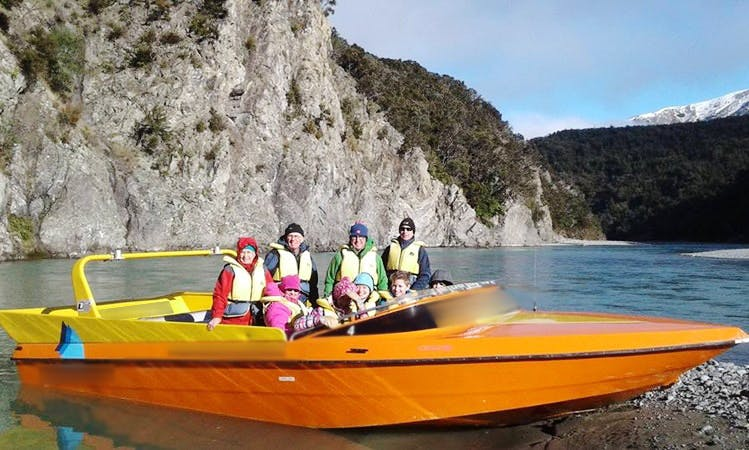 Charter a Jet Boat in Springfield, New Zealand