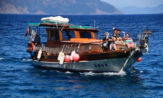 Muğla, Turkey Sightseeing By Boat For A Once In A Life Opportunity