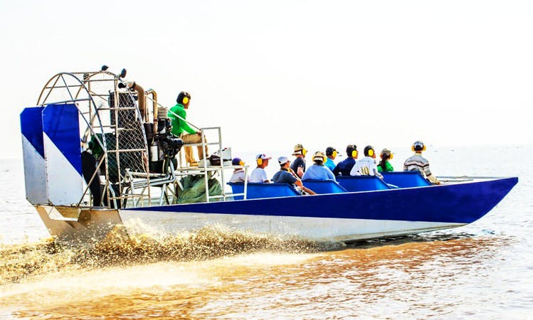 Airboat Tours In Krong Siem Reap, Cambodia.