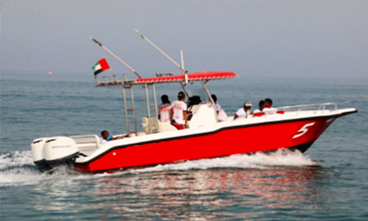 Exciting Sportfishing Adventure in United Arab Emirates for 4 People