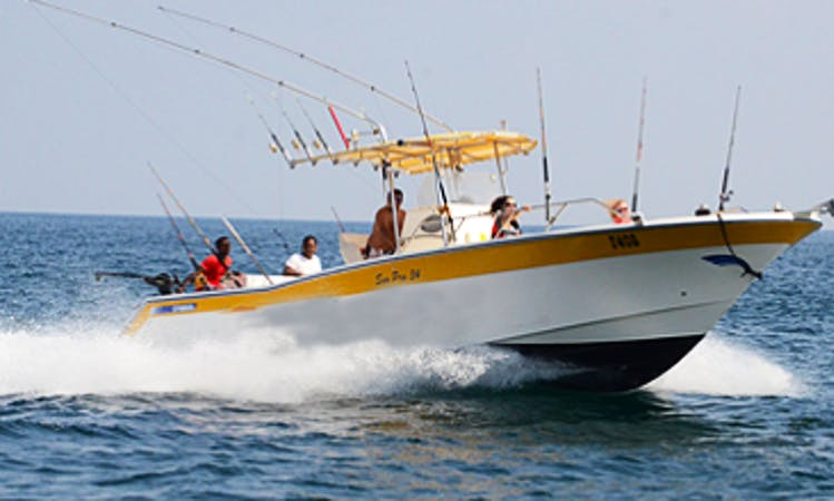 Deep Sea and Sportfishing Trip for 4 People in Prestine Emirate Water