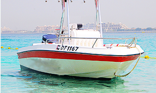 Explore The Arab Gulf Aboard 2012center Console For 7 People!