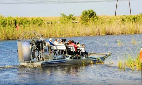 Private Airboat Adventures In Weston