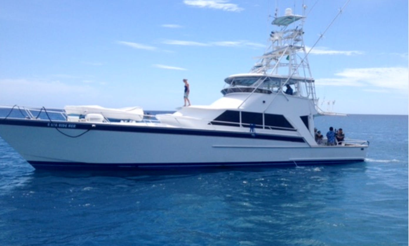 Charter this stryker luxury sportfisher Motor Yacht in Honolulu, Hawaii