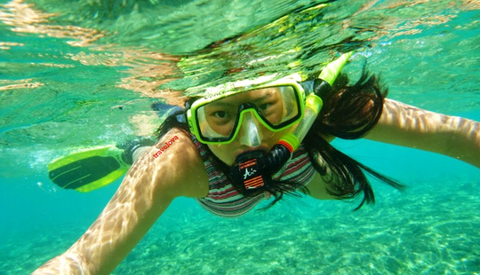 Enjoy Snorkeling In Tanjung Benoa, Bali