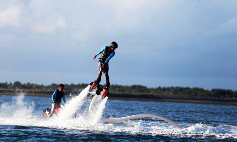Enjoy Flyboarding in Tanjung Benoa, Bali