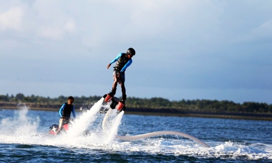 Enjoy Flyboarding In Tanjung Benoa