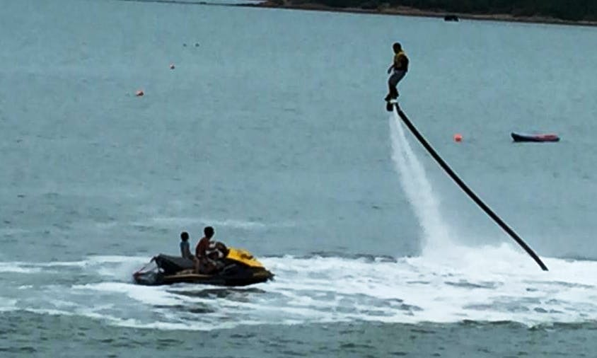 Enjoy the Coolest Flyboarding Adventure in Ko Samui, Thailand