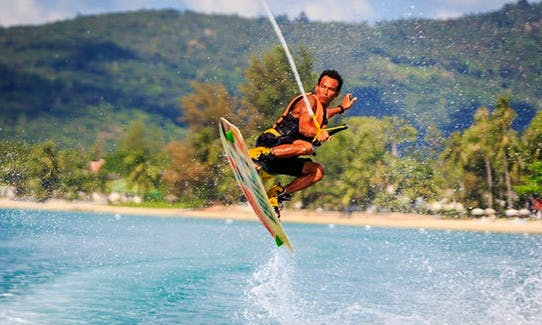 Jump the Wake Like a Pro in Ko Samui, Thailand