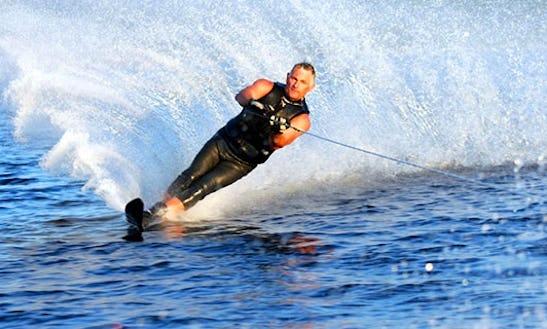 20 Minutes Water Skiing In Ko Samui, Thailand