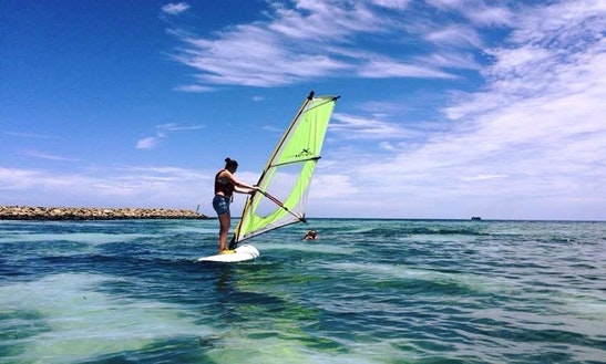 Enjoy Windsurfing Lessons In Maafushi, Maldives