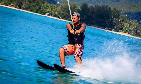 Enjoy Water Skiing In Ko Samui, Thailand