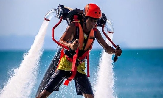 Enjoy Jetpack In Ko Samui, Thailand