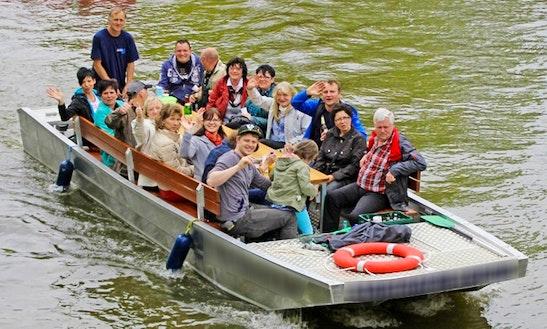 Motor Boat Trips & Charter In Leipzig