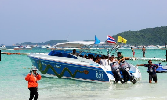 Enjoy Fishing In Muang Pattaya, Thailand On Motor Yacht