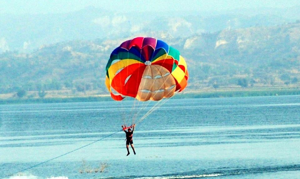 Enjoy Parasailing in Punjab, Pakistan