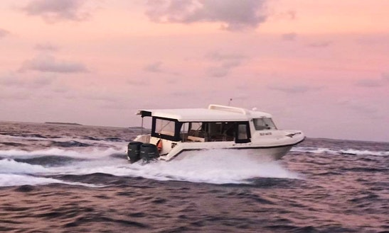 Enjoy The Beauty Of Male, Maldives On A Cuddy Cabin Charter