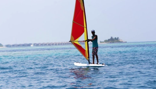Enjoy Windsurfing In Gulhi, Maldives