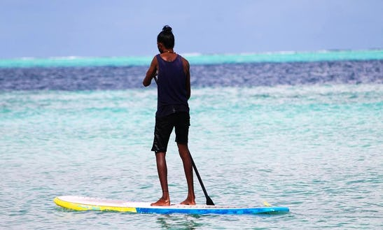 Rent A Stand Up Paddleboard In Gulhi, Maldives