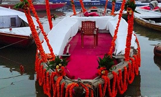 Charter A Traditional Boat In Varanasi, Uttar Pradesh