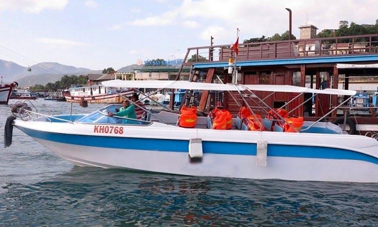 Rental or Charter a Sieu Sao Speedboat in Nha Trang, Vietnam