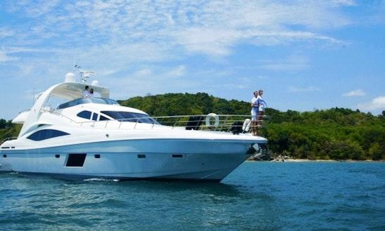 76' Olympia Luxury Yacht In Phuket