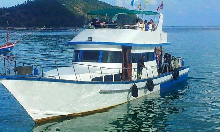Dive boat  in Koh Phangan