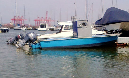 8 People Boat For Rent In Durban With Ben