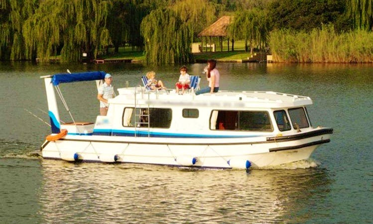 Rent Houseboat on The Vaal River in Free State, South Africa