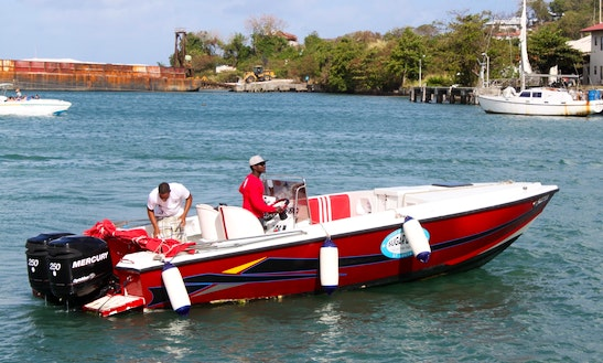 Charter A Center Console In Soufriere, Saint Lucia