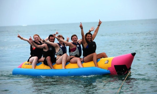 10 Minutes Exciting Banana Boat Ride In Ko Samui, Thailand