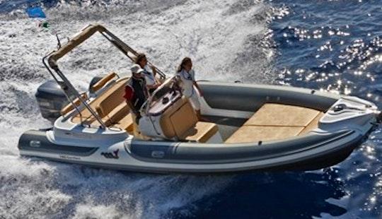 Charter 25' Motonautica Vesuviana Rigid Inflatable Boat In Saint-tropez, France