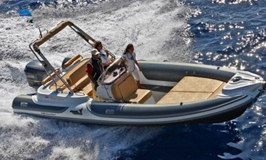 Charter 25' Motonautica Vesuviana Rigid Inflatable Boat In Saint-tropez, France
