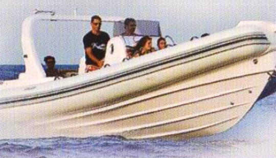 Charter Stingher 800 Gt Rigid Inflatable Boat In Saint-tropez, France
