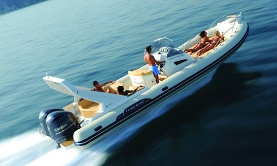 Charter Capelli Tempest Rigid Inflatable Boat In Saint-tropez, France