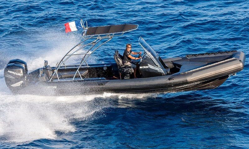 Charter Sillinger 900 Rigid Inflatable Boat in Saint-Tropez, France