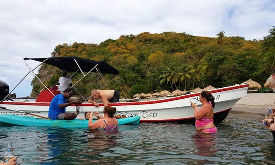 Saint Lucia Captained Boat Charters For The Day!