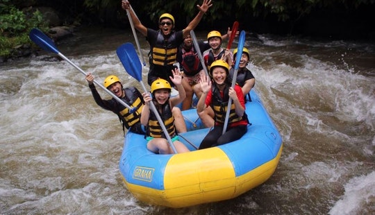Enjoy Rafting In Kuta, Bali