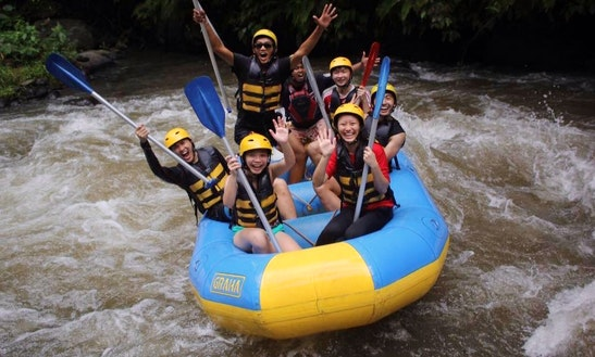 Enjoy Rafting In Kuta, Bali