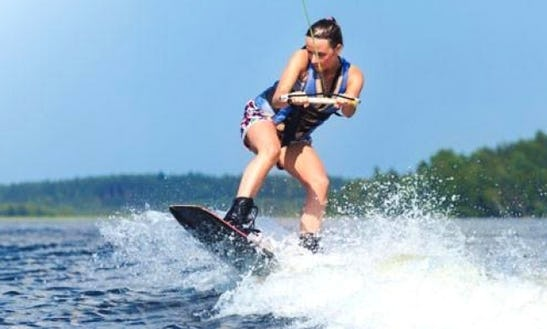 Enjoy Wakeboarding In Kuta, Bali